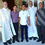 Fr. Ed, Henry, Paul, Fr. Byron and Fr. Andrzej