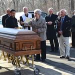 The family blesses Fr. Steve