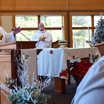 Dn. David proclaims the Gospel