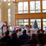 Fr Ed Kilianski, US provincial superior, was the homilist