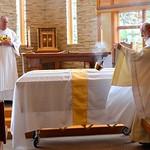 Incensing the casket